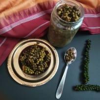 Pickled peppercorns