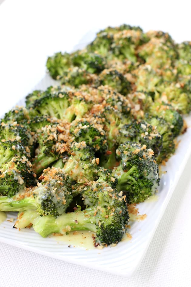 Roasted Broccoli with Buttery Bread Crumbs Pic