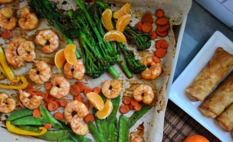 Sheet Pan Shrimp Stir-Fry Pic