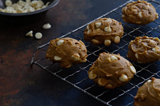 Pumpkin White Chocolate Chip Cookies Photo