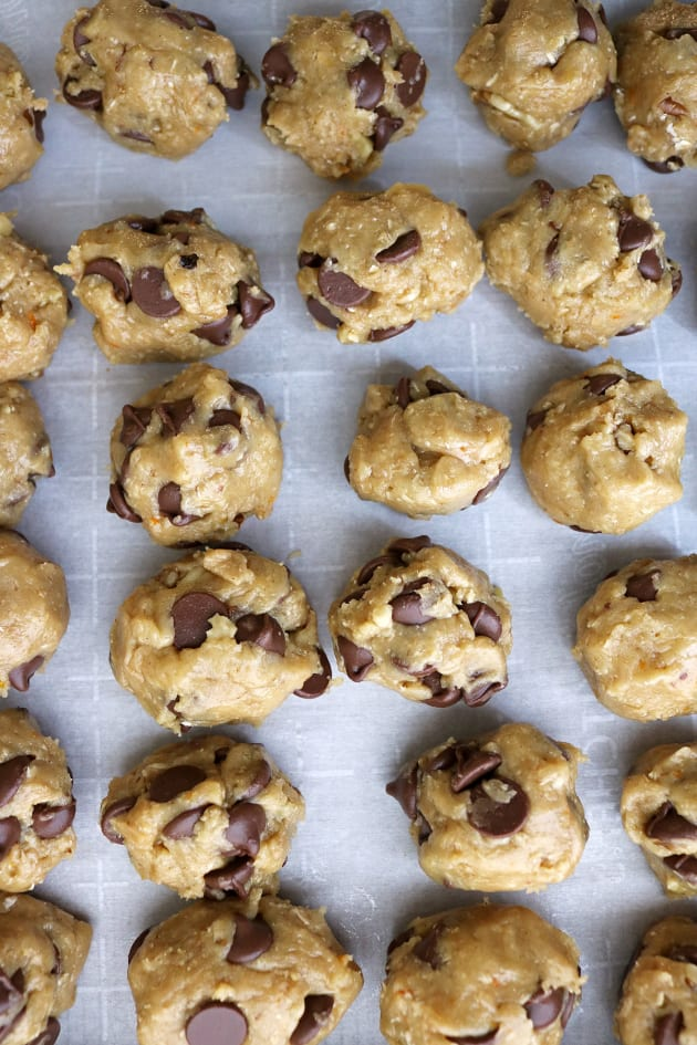Gluten Free Chocolate Chip Cookies with Orange Image
