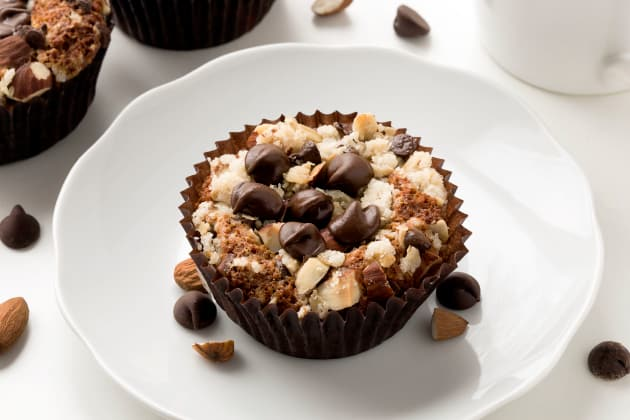 Gluten Free Chocolate Almond Muffins Photo