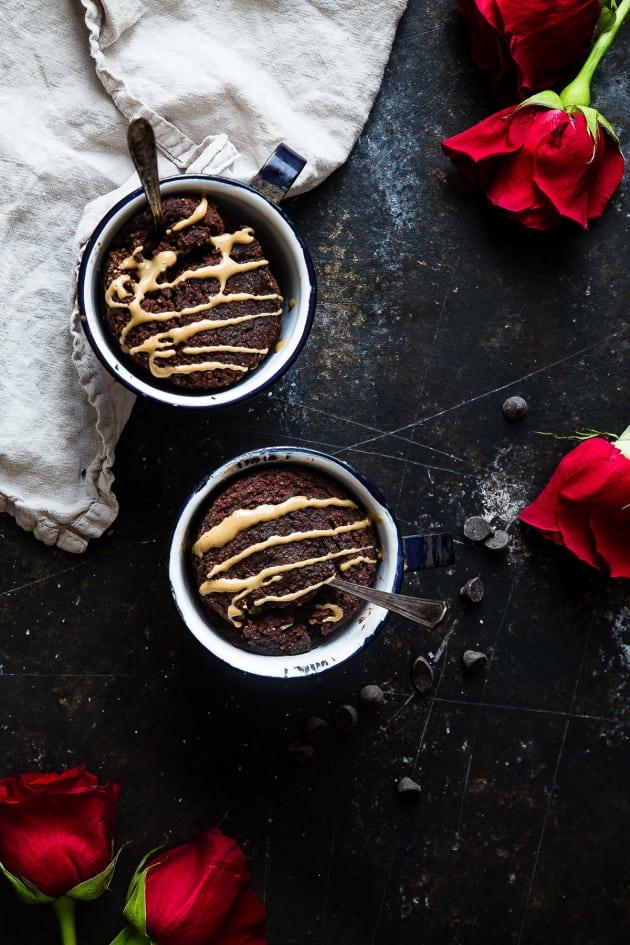 Coconut Flour Chocolate Paleo Mug Cake Pic