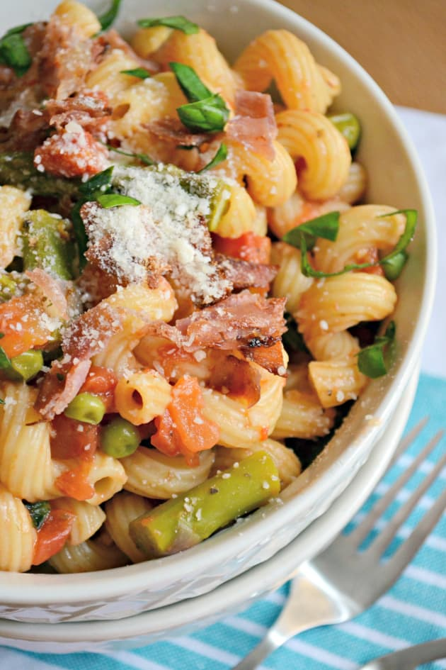 Pasta With Asparagus And Prosciutto Food Network