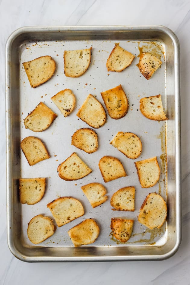 Toaster Oven Bagel Chips Pic