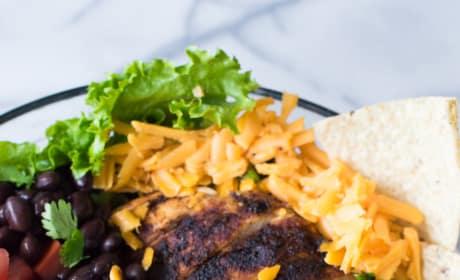 Chicken Taco Salad with Cilantro Ranch Photo