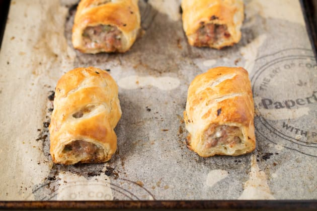 Homemade Sausage Rolls Photo