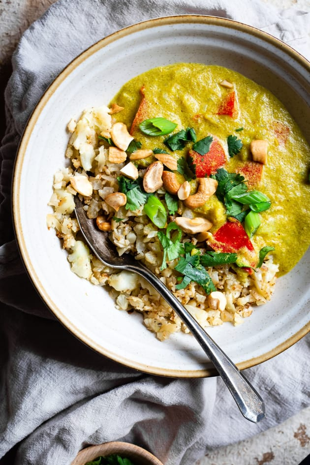 Instant Pot Tahini Cashew Curry Picture