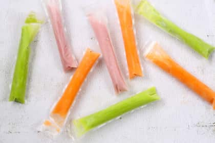Homemade Otter Pops