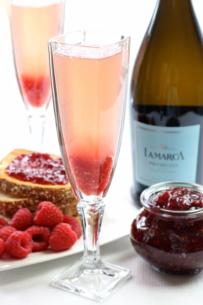Jam Toast Cocktail Picture