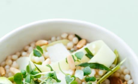 Deconstructed Pesto Couscous Salad Picture
