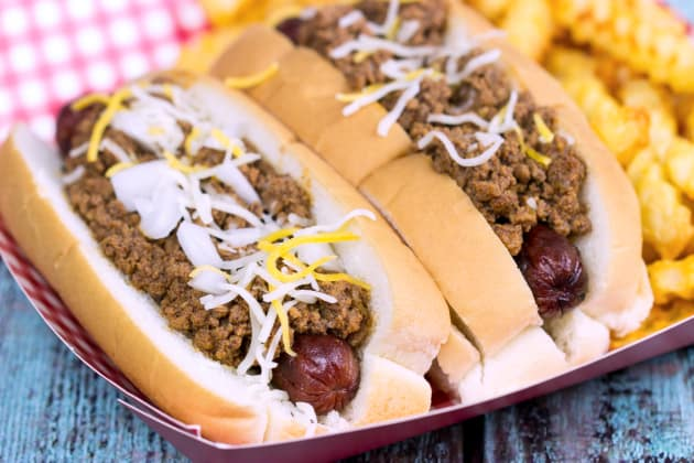 Chili Cheese Dogs Photo