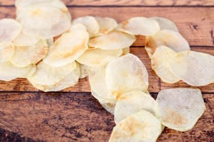 Homemade Lay's Potato Chips