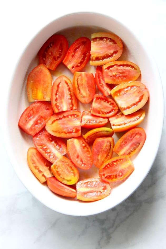 Cheesy Tomato Pasta Bake Picture