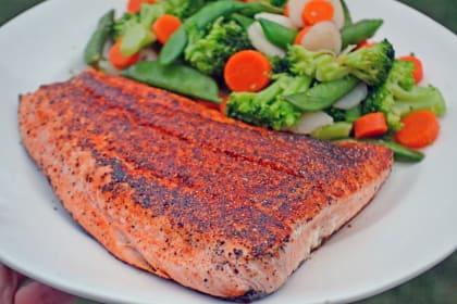 3-Ingredient Blackened Salmon Recipe