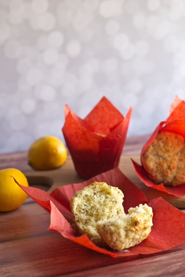 Lemon Poppyseed Muffins Picture