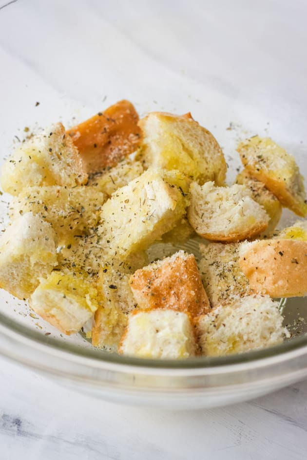 Toaster Oven Baked Croutons Image