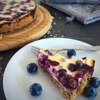 Blueberry Oatcake - Easy & Quick Recipe