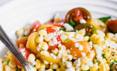 Roasted Corn and Tomato Salad Image