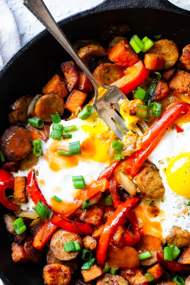 Buffalo Chicken Hash Pic