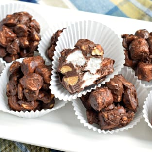 Rocky road clusters photo