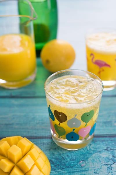 Sparkling Mango Lemonade Pic