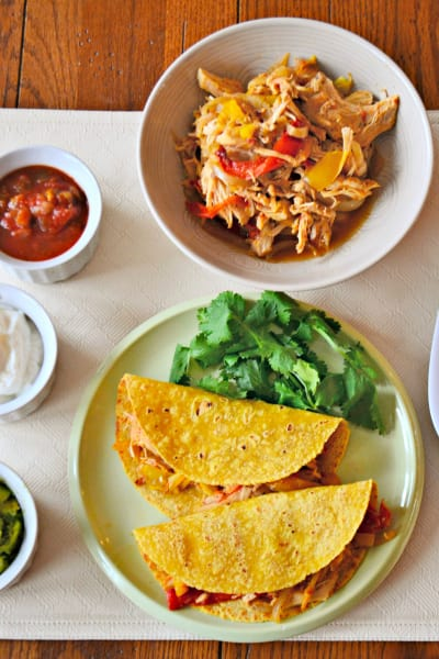 Slow Cooker Chicken Tacos Picture