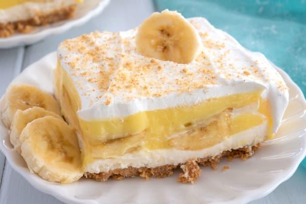 Banana Pudding Dessert Photo