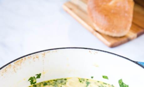 Creamy Chicken Tortellini Soup Image