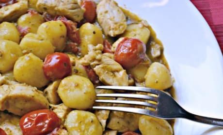 Chicken Pesto Gnocchi Recipe