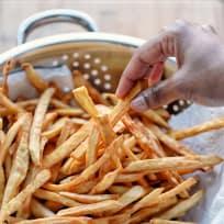 Spicy Japanese Sweet Potato Fries