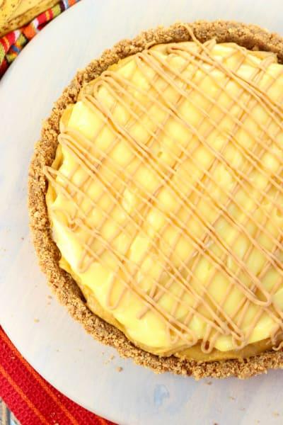Peanut Butter Banana Pudding Tart Picture