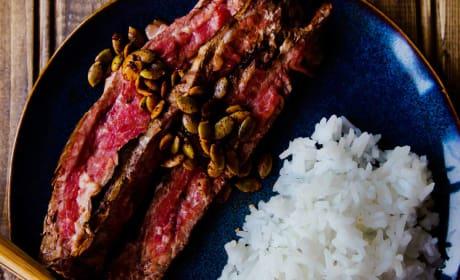 Pan Seared Flank Steak Photo