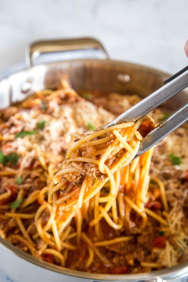One Pot Spaghetti Picture
