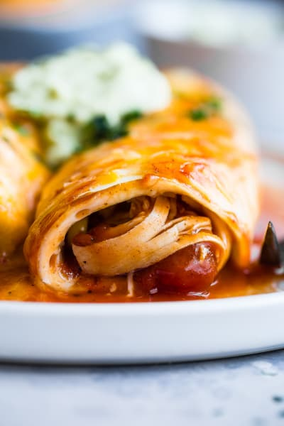 File 4 - Healthy Chicken Enchiladas