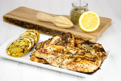 Easy Lemon Grilled Chicken