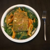 Honey Mustard Salmon Salad