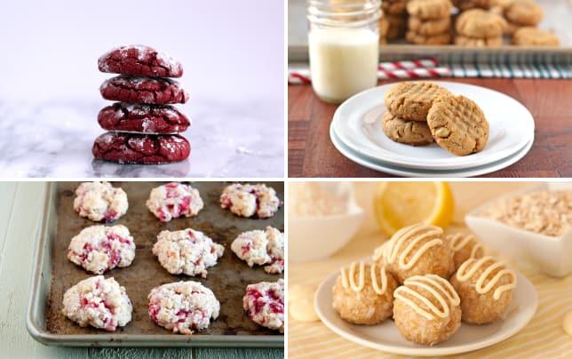 Red velvet cookies photo