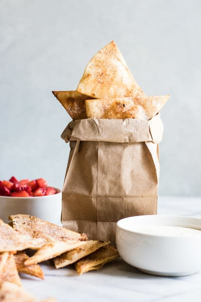 Cinnamon Tortilla Chips Image