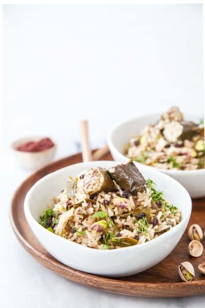 Dolma Rice Bowl Image