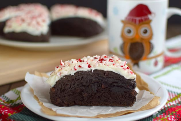 Peppermint mocha scones make a decadent breakfast or delicious ...