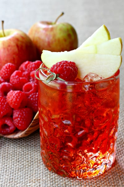 Raspberry Cider Whiskey Picture