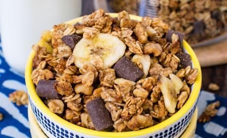 Peanut Butter Banana Chocolate Chunk Granola Photo