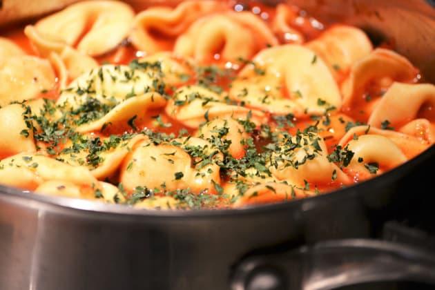 Tomato Tortellini Soup Picture