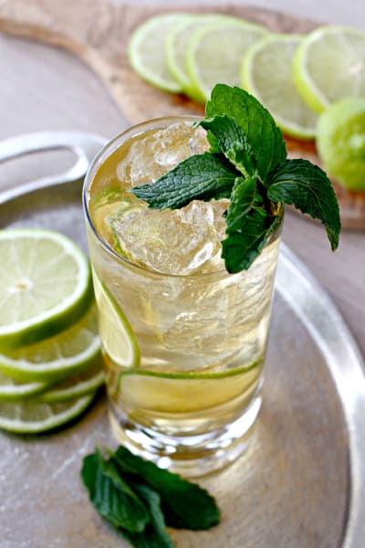 Gin and Ginger Fizz Picture