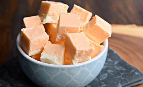 Orange Creamsicle Fudge Photo
