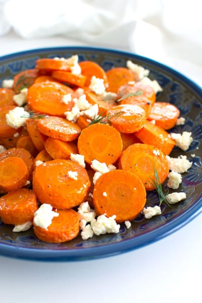 Roasted Carrots with Feta Pic