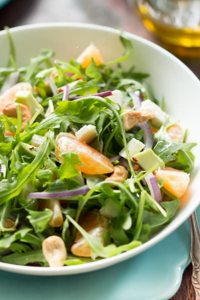 Clementine Arugula Salad Pic