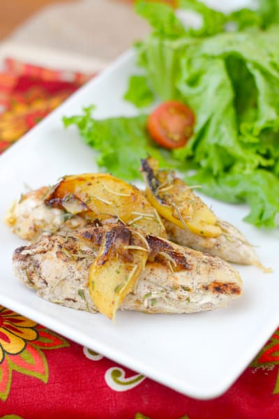 Pan-Seared Apple Chicken Picture