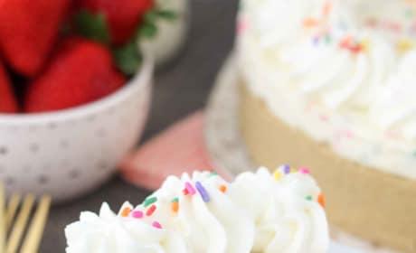 No Bake Funfetti Cheesecake Image